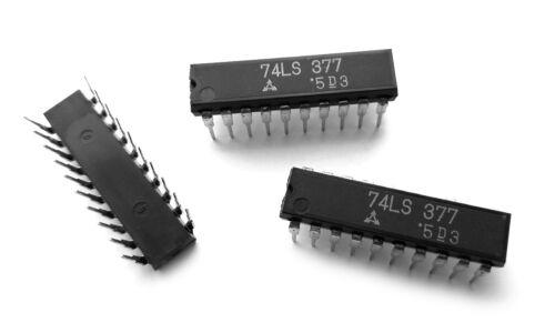 3 pieces 74LS377 D Flip-Flop LS Series 74LS377 IC SN74LS377N