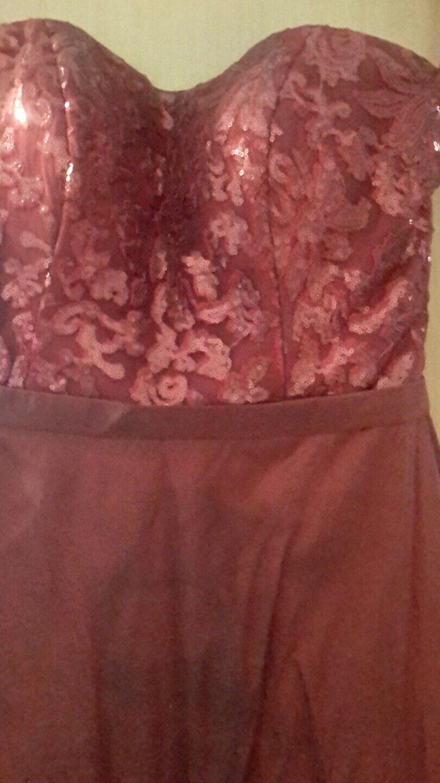Hofdamenkleid , gr.38, bordoux, mit Beutel , nicht gereinigt , 2 mal getragen | Vorzügliche Verarbeitung  | Ausgezeichnet  | Neuankömmling