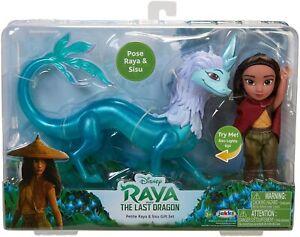 Raya and the Last Dragon 6-Inch Petite Raya Doll & Sisu Set - New 2021