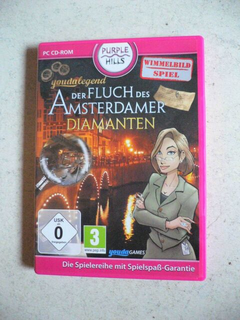Youda Legend: Der Fluch des Amsterdamer Diamanten (PC, 2010, DVD-Box) Adventure
