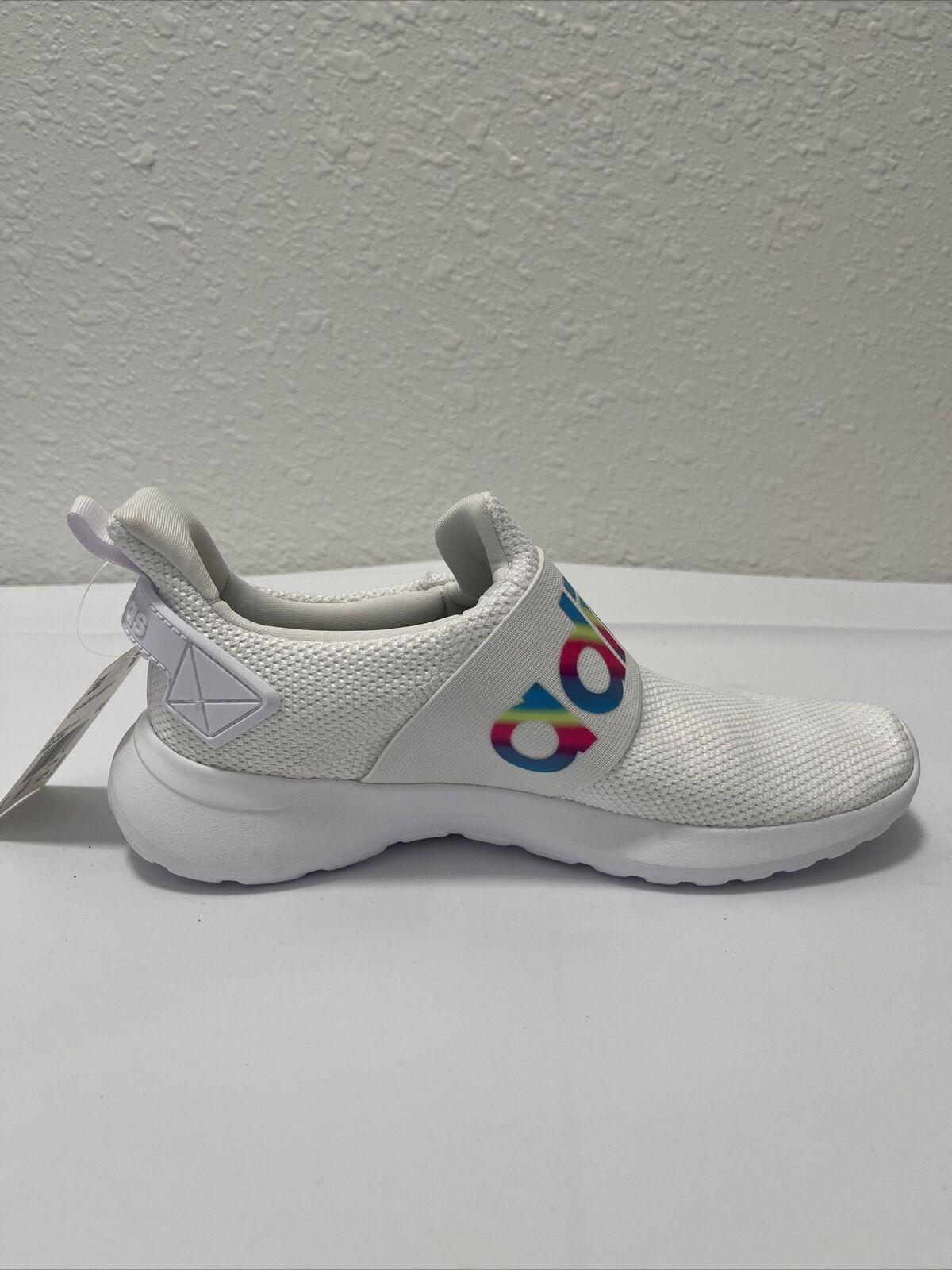 adidas Lite Race ADAPT K White Running Shoes 6