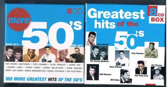 2 x 8 CD BOX Greatest Hits of the 50´s & MORE (Vol.2) Disky  von 2004 NEUWERTIG