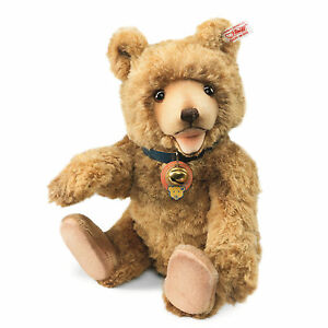 Steiff-Silk-Teddy-Baby-Bear-EAN-682698-NRFB-USA-Limited-Edition