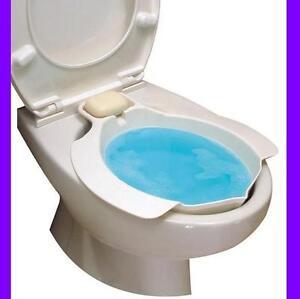 Bidet universal acoplable para inodoro ba o wc water ebay - Banos de asiento para hemorroides ...