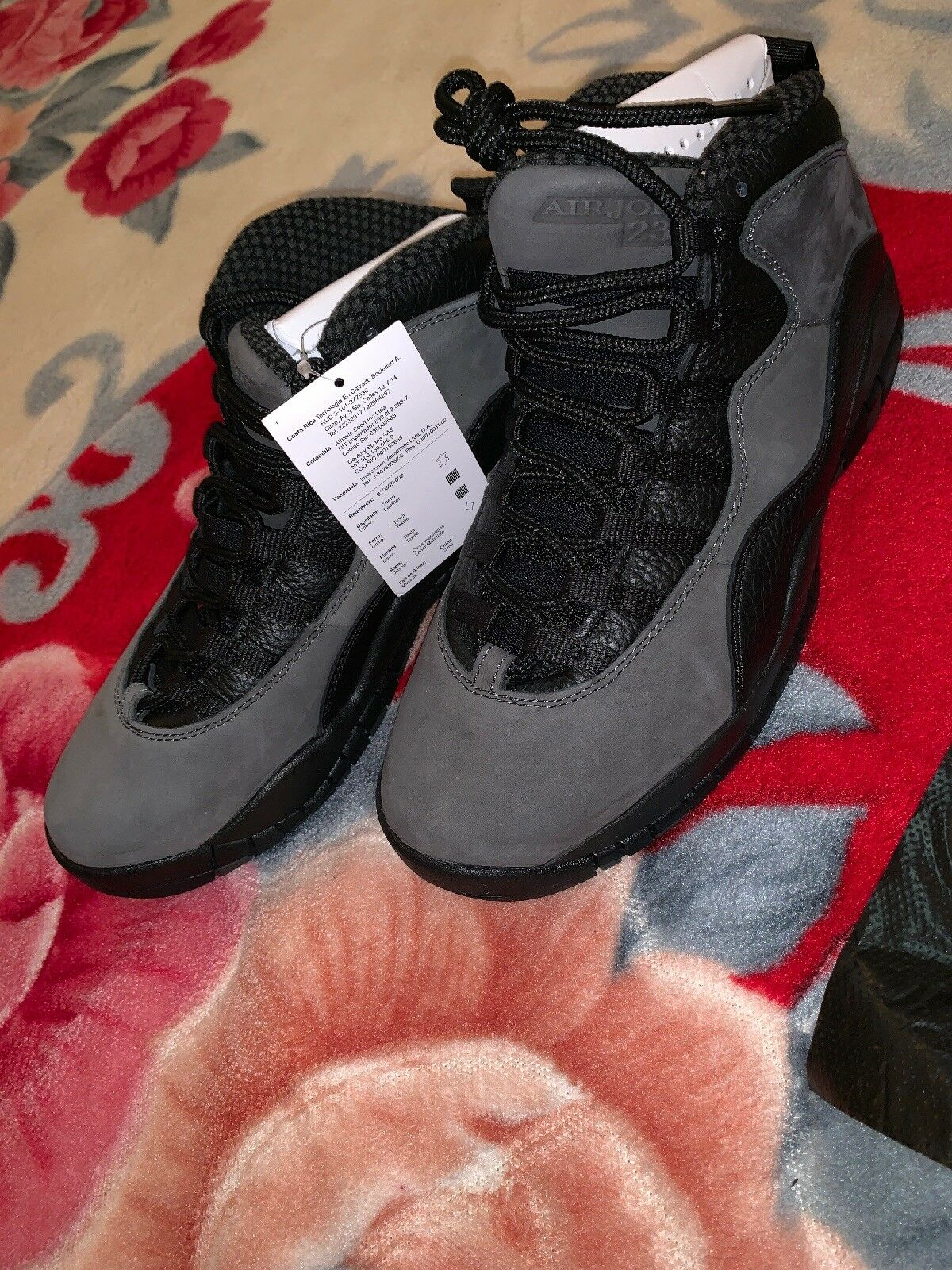 Air Jordan 10 Retro 'Shadow 2018' 310805 002 Size 9.5