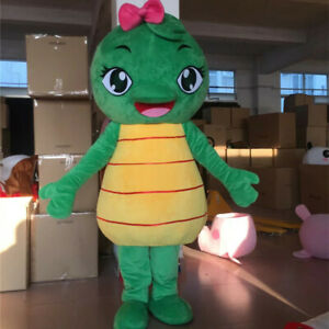 Informacion De Halloween.Turtle Mascot Costume Suit Cosplay Party Game Dress Outfit