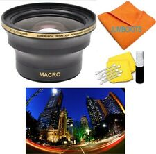 58MM X38 WIDE ANGLE MACRO LENS FOR Canon EOS Rebel SL1 T5I 1200D T5 T3I 7D 450D