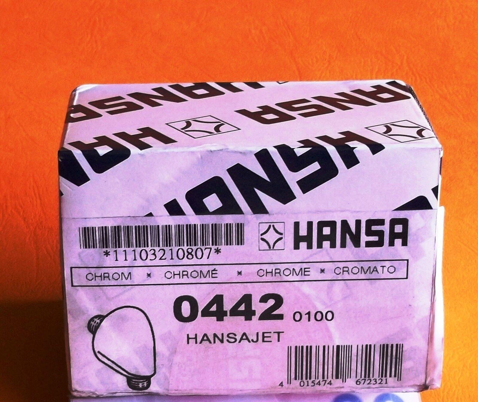 Hansa Wandbogen   0442-0100 Hansajet Wandanschlußbogen