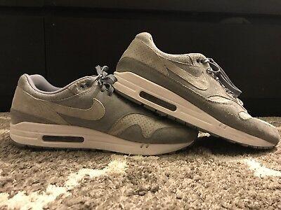 Nike Air Max 1 Premium Shoes Men's Size 13 US 12 UK Cool Grey 875844 005 | eBay