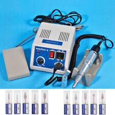 Dental Lab Marathon 35k Rpm Handpiece Electric Micro Motor10drills Burs Hp235
