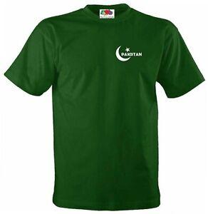 Enfants Jeunes Pakistan équipe Nationale De Cricket Style Drapeau Supporters Jersey T-shirt-afficher Le Titre D'origine