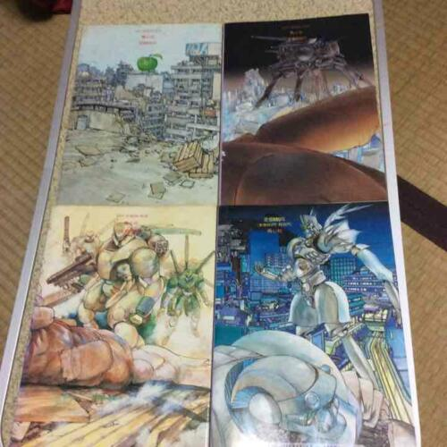 APPLESEED Apple Seed Manga Comic Complete Set 1-4 SHIROW MASAMUNE Japan Book