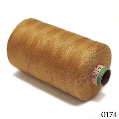Amann 100/% Polyester Core-Spun Sewing Thread  Sabac 80 1000M Color 0174 Durable