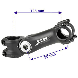 Fahrrad-Ahead-Vorbau-1-1-8-Zoll-Alu-verstellbar-125mm-25-4-mm-Lenkerklemmung