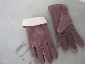 Army Women Winter Gloves Leather Vintage Nose Art Rockabilly 19