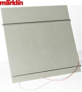 Maerklin-H0-E313402-Grundplatte-fuer-Portalkran-76500-76501-66105-NEU-OVP