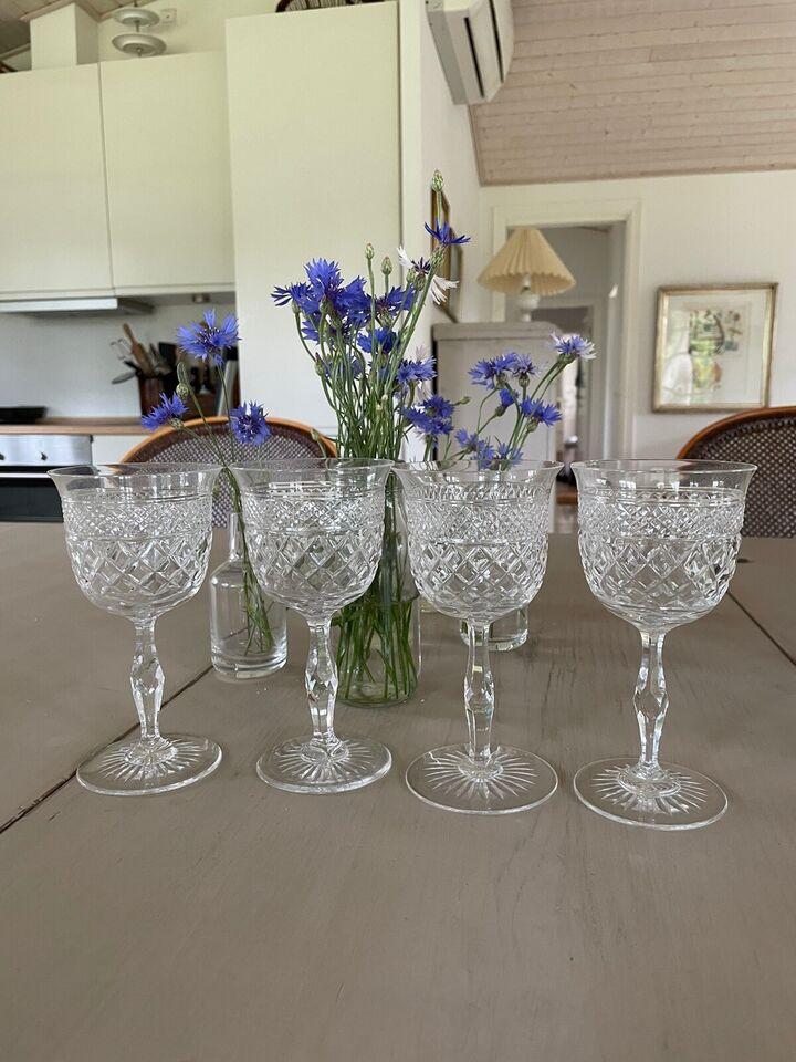 Glas, Vinglas, krystal