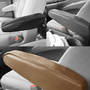 Faux Leather Armrest Cover For Auto Car SUV Van Truck 1 PCS 3