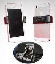 2x Universal 360° KFZ Auto Lüftung Halterung Smartphone Handy Halter Handyhalter