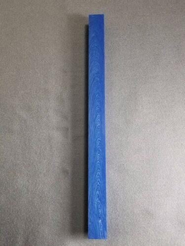 """1 PEN BLANK /& VAPE JUMA ® GEM BLUE  .750/"""" x .750/"""" x 12/"""" TURNING SQUARE"""