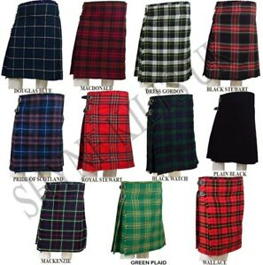 8-Yard-Kilts-Scottish-Mens-Kilts-16oz-Casual-Kilt-Various-Sizes-and-Tartans