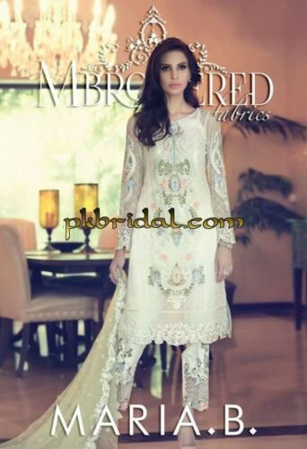 Maria B Mbroidered Original Beautiful Dreas
