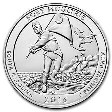 2016 5 oz Silver ATB Fort Moultrie National Monument, SC - SKU 93727