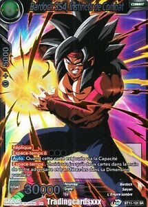 Combat Instincts BT11-131 SPR Dragon Ball Super Card Game NM Ss4 Bardock