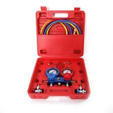 R134 R12 R22 Hvac Ac Refrigeration Kit Ac Manifold Gauge Set 3000 Psi 639lbs