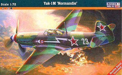 YAKOVLEV YAK 1 M NORMANDIE (SOVIET / FRENCH AF MARKINGS) 1/72 MASTERCRAFT