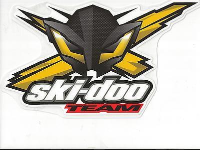 "#418 12/"" Ski-Doo SkiDoo Bee BRP Decal Sticker Team Racing Snowmobile"