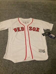 low priced 0b87e 44ba2 Details about Boston Red Sox Ted Williams Jersey Throwback With Name - NWT  XXL Sz 52 White