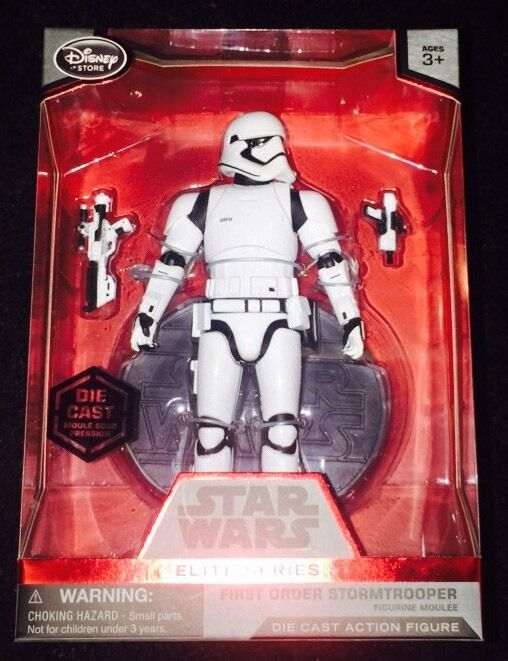STAR WARS: FORCE AWAKENS Exclusive 6 1/2  Elite Series FIRST ORDER STORMTROOPER