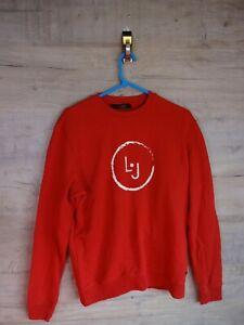 VTG-90s-80s-Liu-Jo-Grafik-Sweatshirt-Pullover-Jumper-Ref-8-Medium-Large
