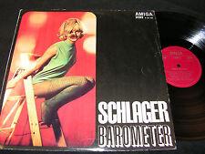 SCHLAGER-BAROMETER Ruth & Volkmar, Britt Kersten / DDR STEREO LP'67 AMIGA 855125