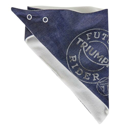GENUINE Triumph Motorcycles Baby Dribble Bib Blue 50/% OFF RRP NOW £3.50 EACH