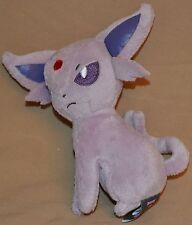 "5.5"" Espeon # 196 Pokemon Plush Dolls Toy Stuffed Animal Banpresto I Love Gothic"