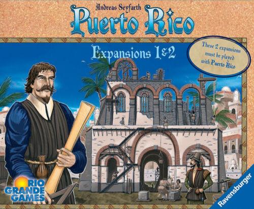 Expansions 1 /& 2 Puerto Rico RGG565 Rio Grande Games