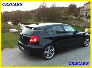 bmw e87 e81 1series rear roof aero spoiler 2004 2011 ebay. Black Bedroom Furniture Sets. Home Design Ideas
