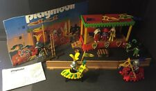 Playmobil 3652 Medieval Jousting Tournament Knights Castle With Stand