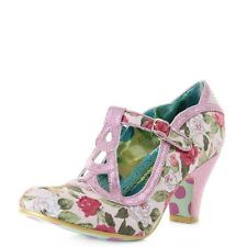 Zapatos de Tacón Alto irregular Choice bien hecho Rosa Floral (B) EU 38/UK 5