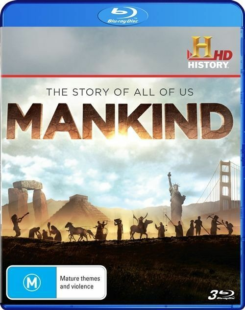 Mankind - The Story Of All Of Us (Blu-ray, 2013, 3-Disc Set)