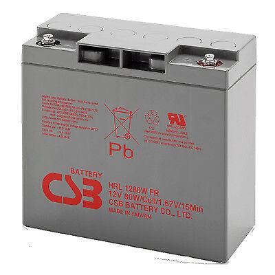 Csb HRL1280W Hohe Rate Entladung Kabel Batteriesäure für Starthilfe 12V 80W