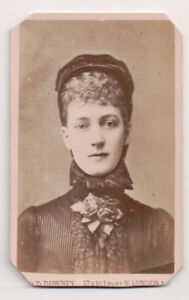 Vintage-CDV-Queen-Alexandra-of-Great-Britain-W-amp-D-Downey-Photo