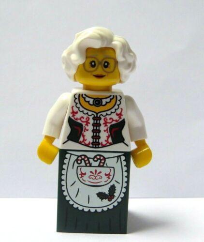 LEGO Female Girl Minifigure Figure Mrs Claus Christmas Xmas Santa Advent