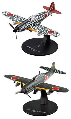 Lot de 2 Avions Japonais Kawasaki WW2-1//72 militaire diecast DeAgostini