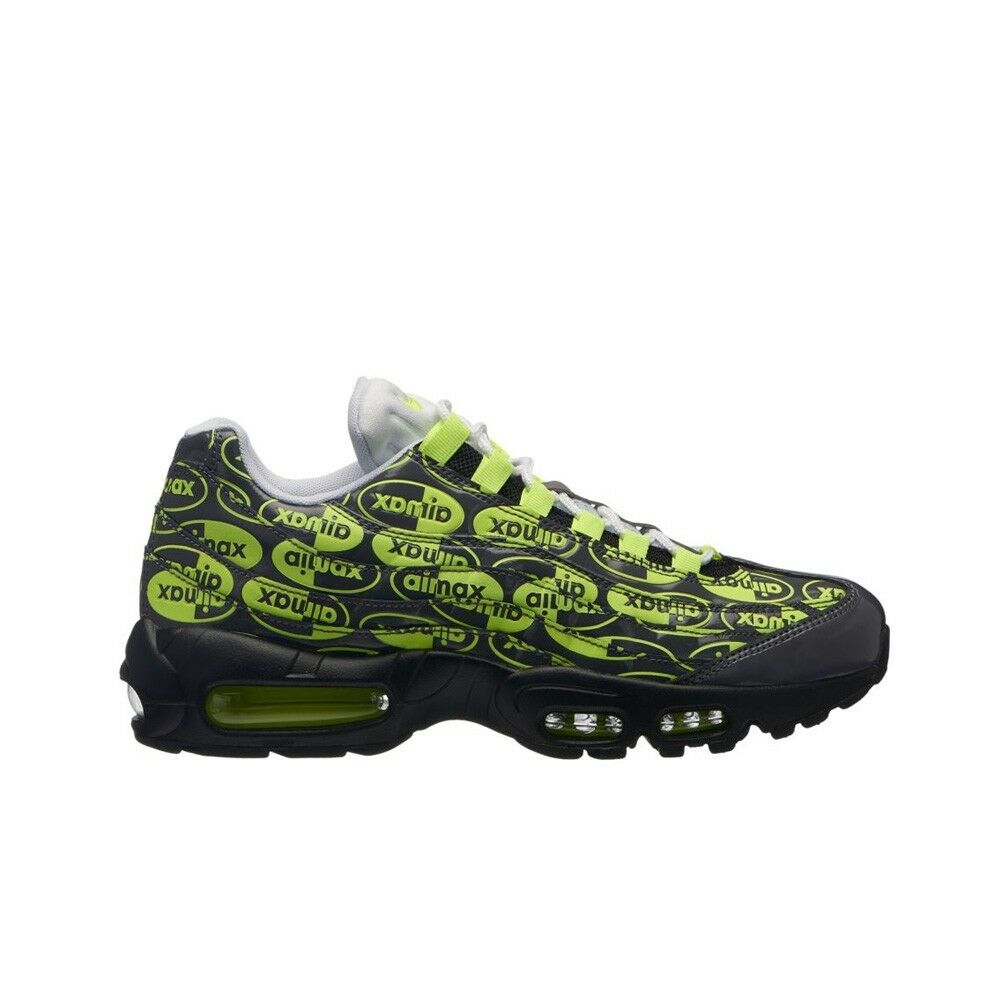 Nike Air Max 95 PRM (Black Volt-Ash-White) Men's shoes 538416-019