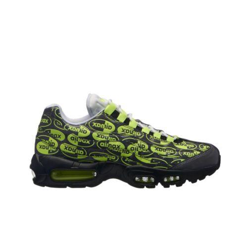 Hot Nike Air Max 95 PRM (Black/Volt-Ash-White) Men's Shoes 538416-019 hot sale