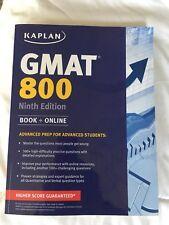 Kaplan Test Prep: Kaplan GMAT 800 : Advanced Prep for Advanced Students by Kaplan Publishing Staff (2014, Paperback)