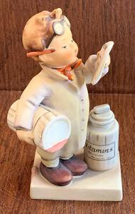 Vintage-Hummel-TMK-4-322-Little-Pharmacist-Vitamins-Edition-6-Figurine